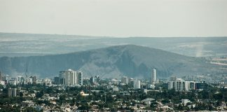 Panorámica de GDL, Barranca de Huentitán