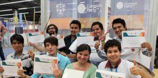 """Ganadores de """"Mejora tu Campus"""" en Campus Party 2015"""