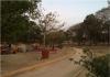 Sendero por donde corren los vecinos en el área de Parques y Jardines en Huentitán