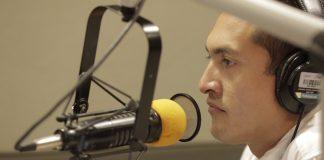 Víctor Magaña, conductor de noticias