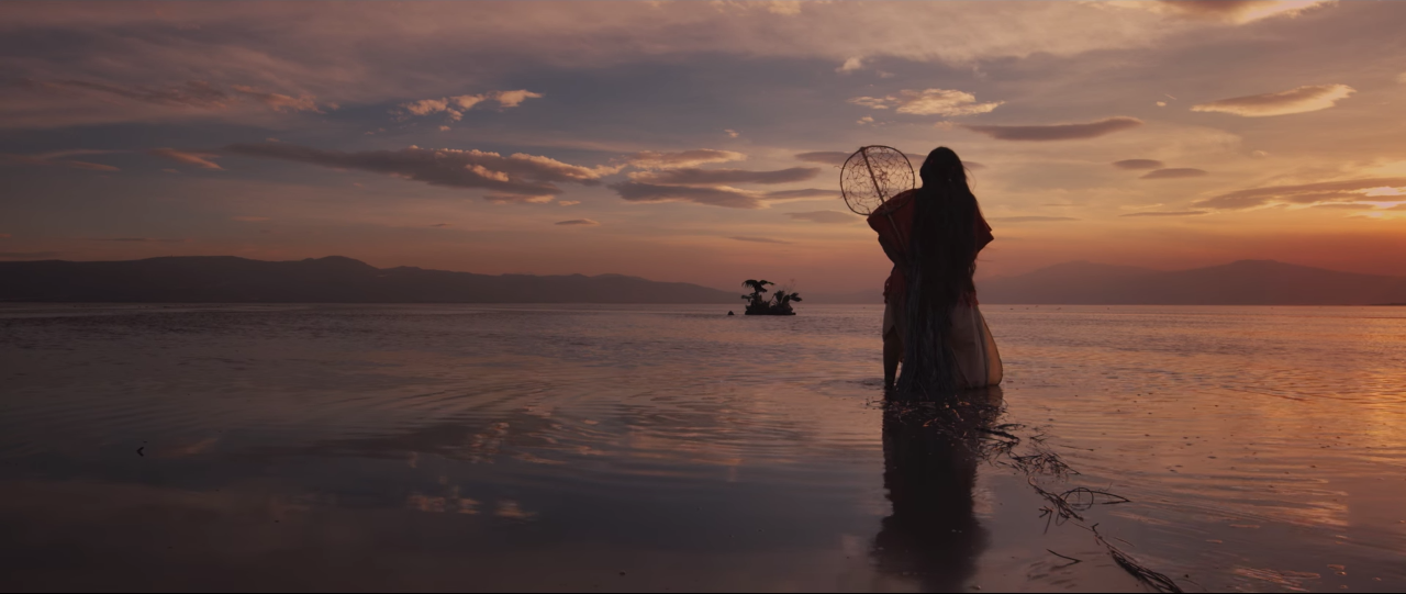 "Escena del videoclip ""La China"" de Porter"