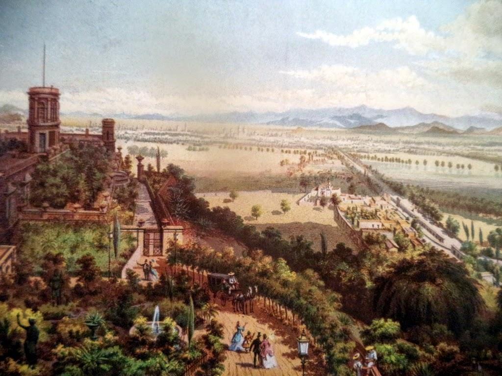 Desde el cerro de Chapultepec