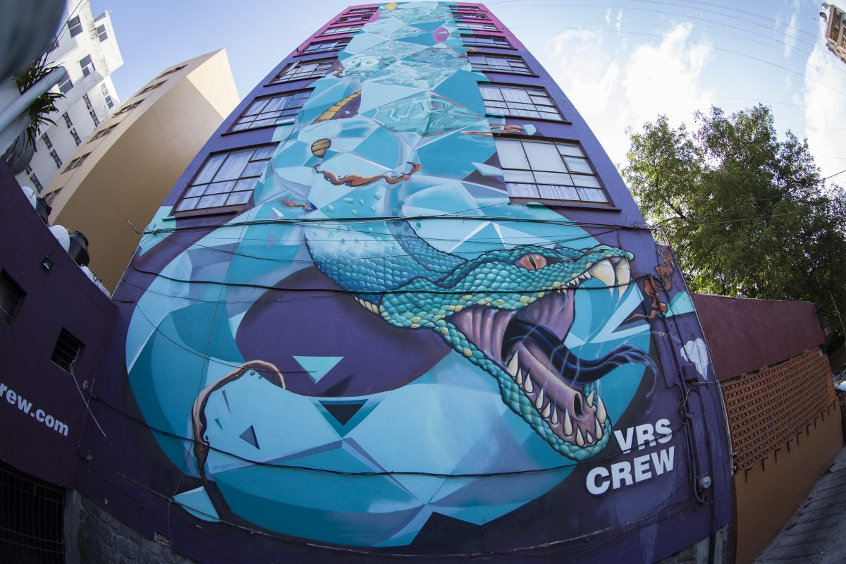 Grafiti, arte urbano en Guadalajara
