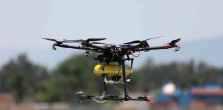 Dron creado por estudiantes del CUCiénega