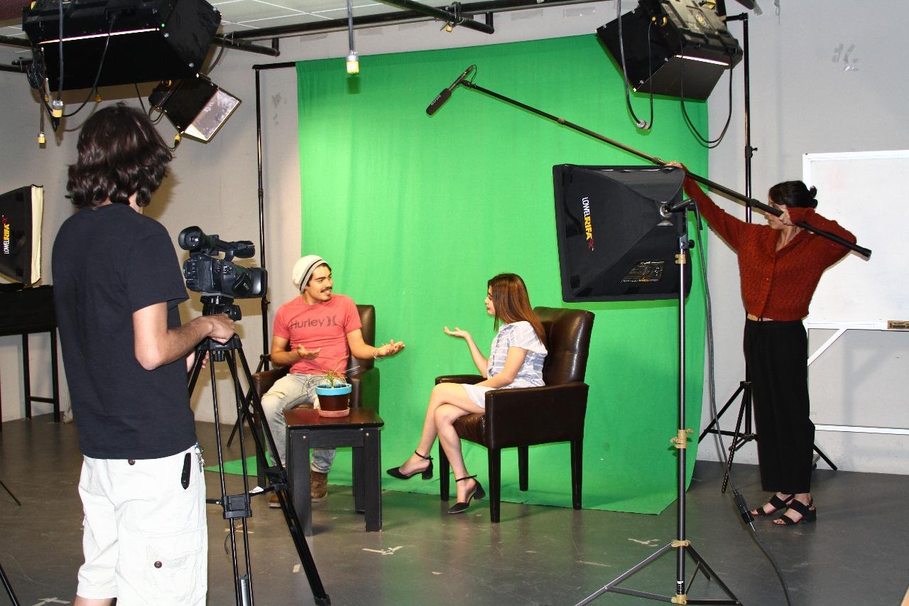 Set de TV Periodismo CUCiénega