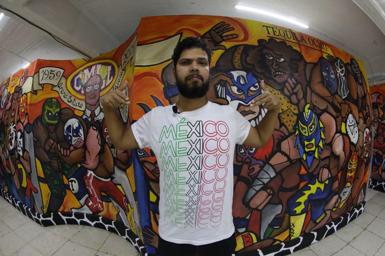 Iván Serrano Jauregui en la lucha libre