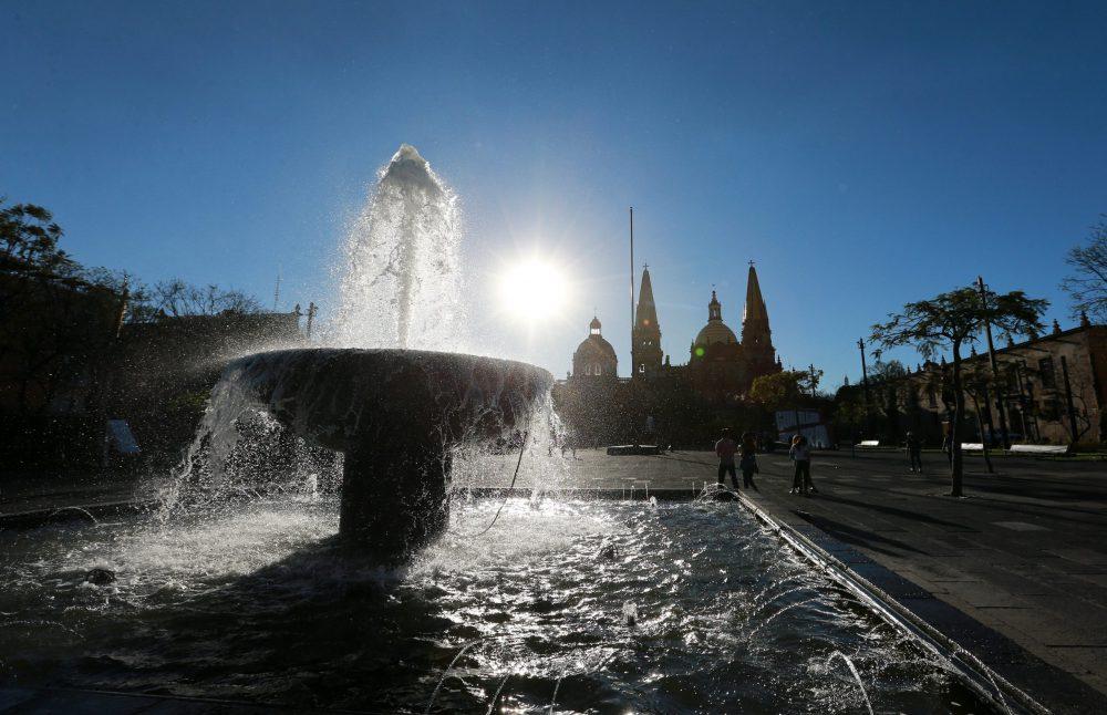 Ola de calor en el Centro de Guadalajara