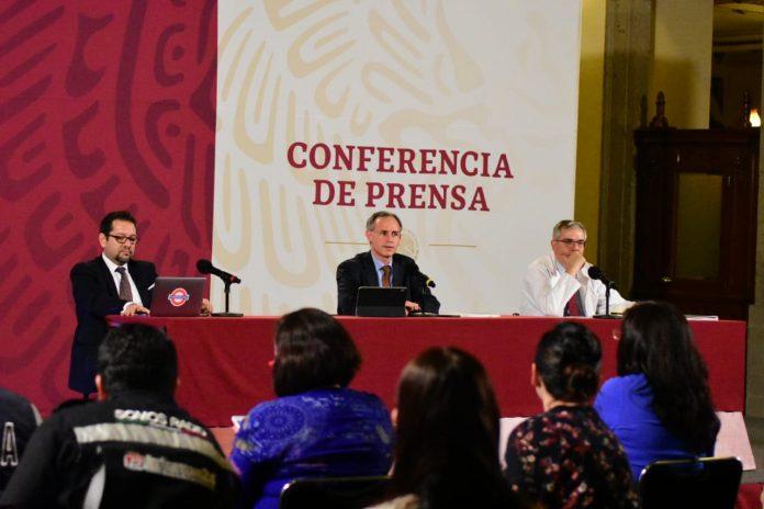 Conferencia de prensa con López Gatell