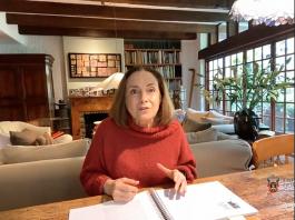 Diana Bracho, recuerda a Hugo Gutiérrez Vega