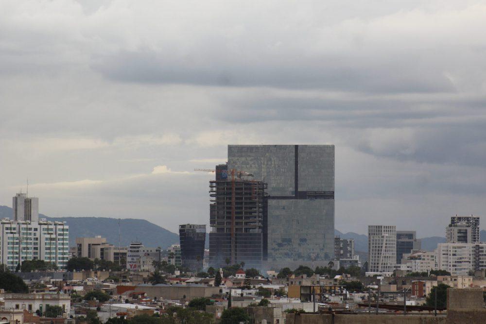 Barrios de Santa Tere, Chapultepec Country desde las alturas. Fotografía Iván Serrano Jauregui