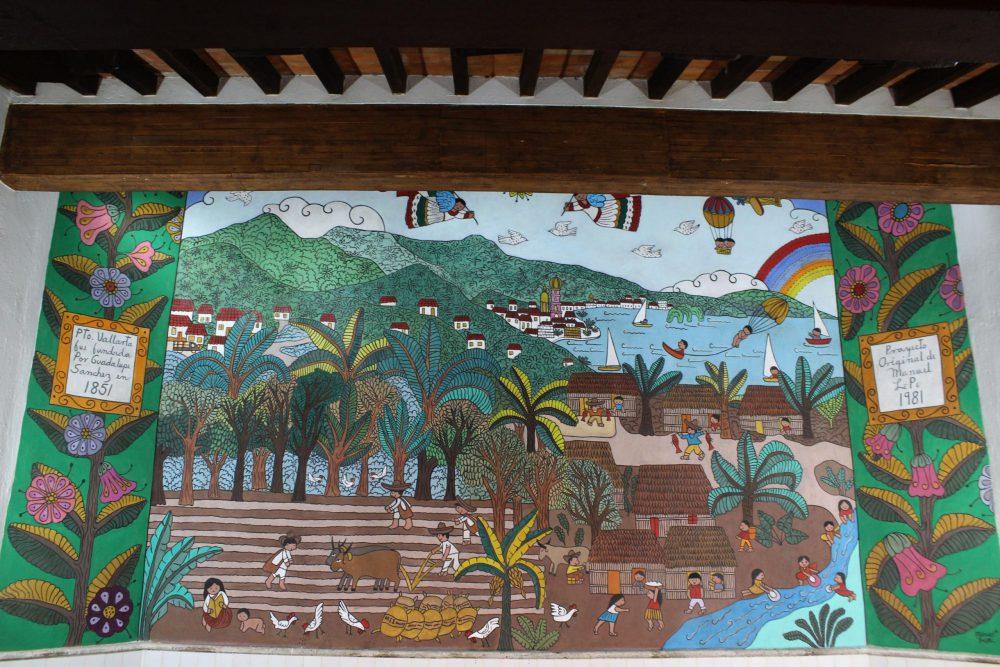 """Mural """"Puerto Vallarta"""", de Manuel Lepe. Fotografía: Iván Serrano Jauregui"""