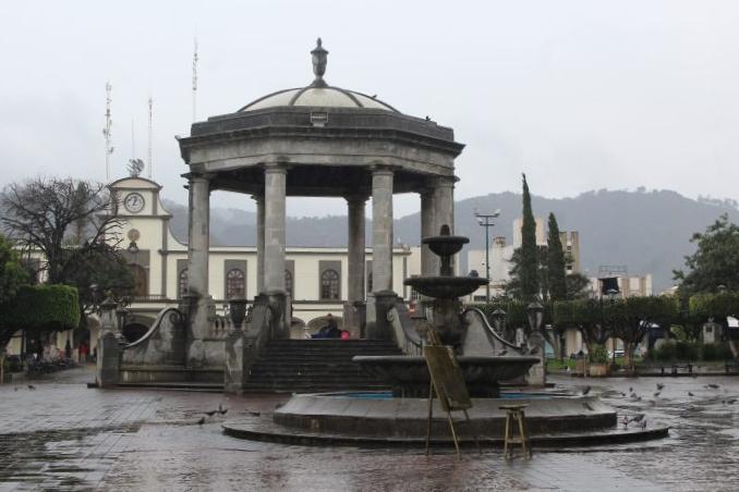 Plaza de Ciudad Guzmán